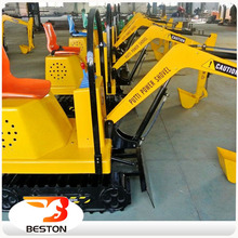 Best price amusement mini digger kid toys/Entertainment excavator for sale