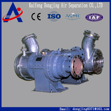 expansion turbine for air separation plant