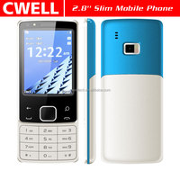 ECON N6300 Dual SIM Card Unlocked GSM Double Cameras 2.8 Inch TFT screen Ultra Slim keypad mobile phone