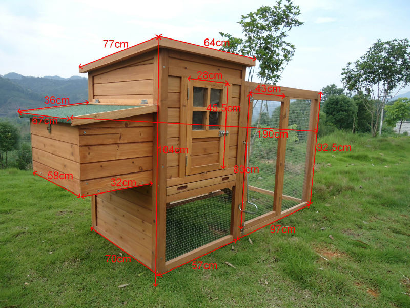 Cheap Chicken Cage Manufacturer with Run BPC020
