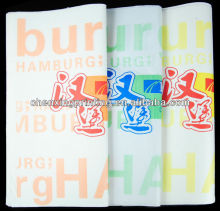 food grade wrapping paper for sandwich hamberger packing