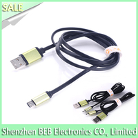 Hot selling flat usb charging cable for iphone 5 iphone 4