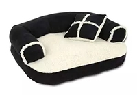 Amazon Hot Sale Luxury Pet Products Dog Beds Wholesale Waterproof Dog Sofa Bed
