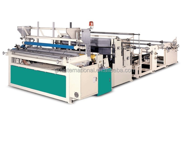 CE Certification High Quality Embossing Perforating and Rewinding Type Fully Automatic Small Toilet Paper Making Machine