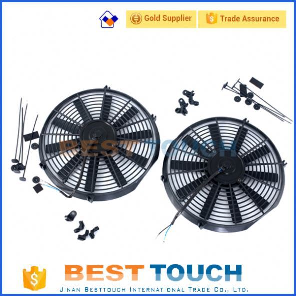 Customized <strong>12V</strong>/24V 80w/120w 07''/09''/10''/12''/14''/16' inch universal car radiator fan <strong>motor</strong> for TOYOTA