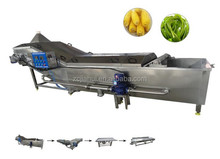 Industrial automatic fruit and vegetable blanching machine