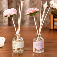 100g 50 ml Fancy Round Reed Diffuser With Bottle