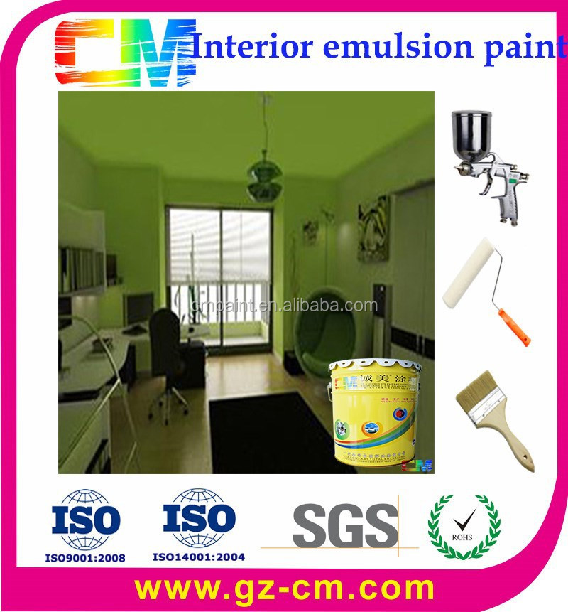 Latex paint- fire proof interior acrylic emulsion coating