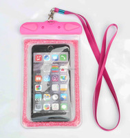 Shinning Diamond Clear PVC Waterproof Diving cellphone Case New Arrival