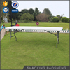 8ft fold in half folding portable table for event space saving