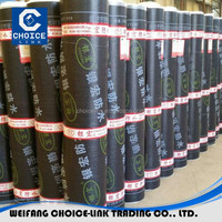 Low Roll price SBS modified bitumen roofing sheet waterproofing membrane factory direct sale