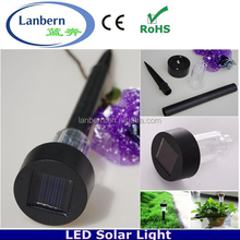 2016 Cheap Mini Plastic light operated Amorphous outdoor Lighthouse Solar Lights for Garden