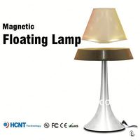 2013 New design !Magnetic floating lamp ,table lamp with base switch
