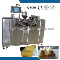 Kendy factory automatic wafer roll bakery machine