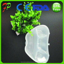 transparent plastic hermetic office food storage container
