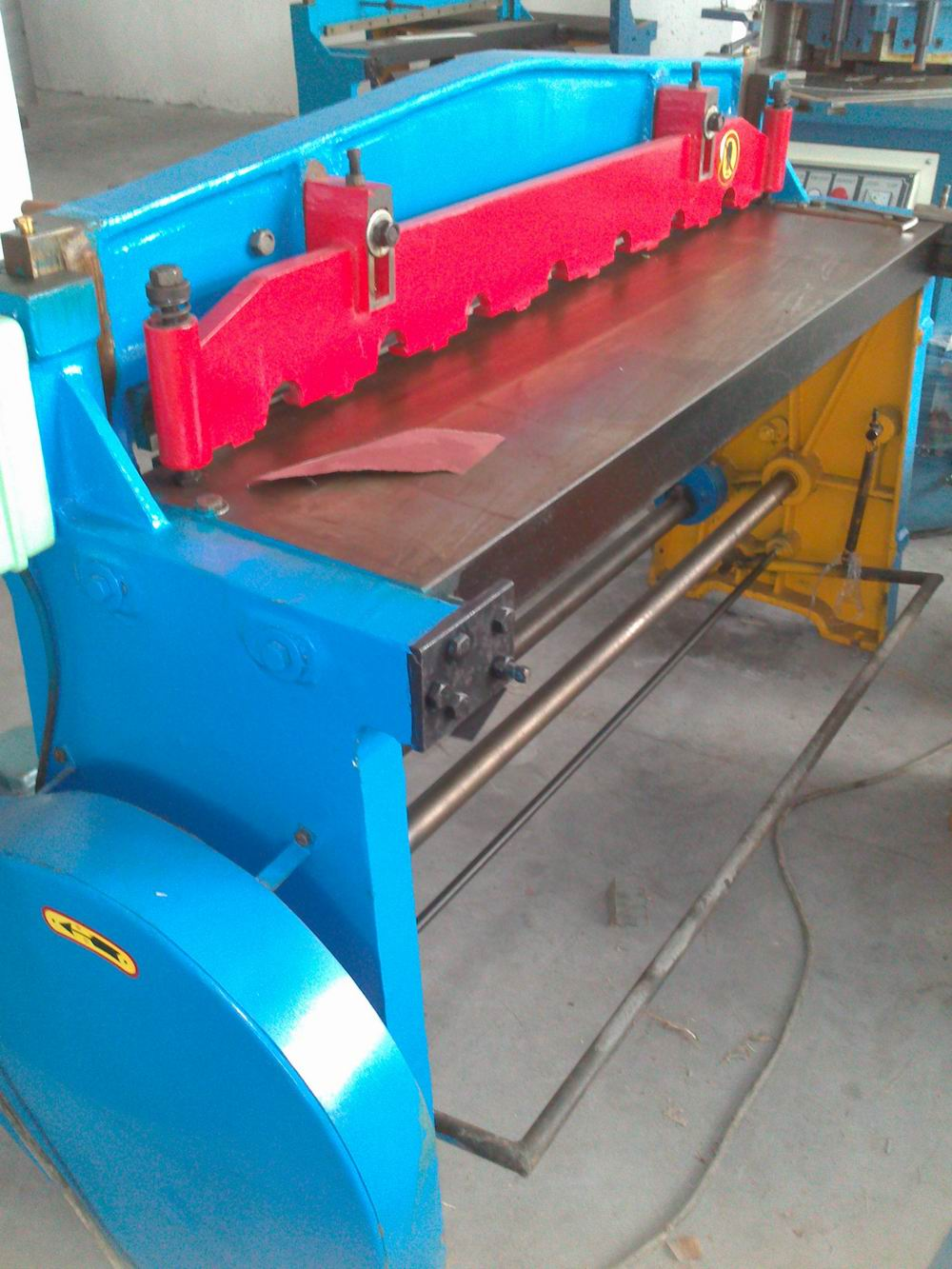 <strong>Q11</strong> mechanical shear machine manufacturer from Shanghai