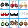 2015 new style cheap Chinese hoop earring jewelry wholesale