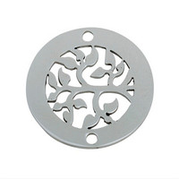 Yiwu Aceon Promotion Custom metal dog flower of tree dog tag