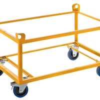 DOUBLE LAYER TRAY TROLLEY