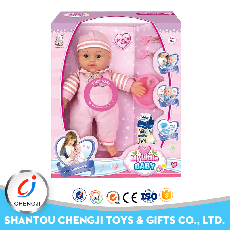 12 inch latest products crying silicone baby doll for sale