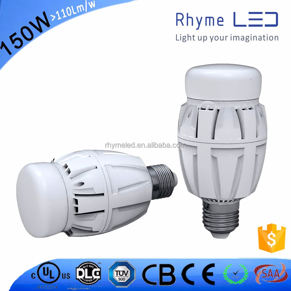 Introdustrial Retrofit Energy saving high power replace up 400W MHL/HID 150W led high bay light e40 led bulb