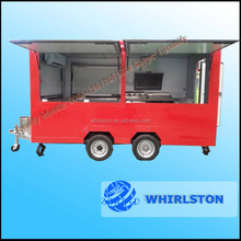 Fast Food And Beverage Application Crepe Food Vending Trailer/Food Catering Truck Trailer