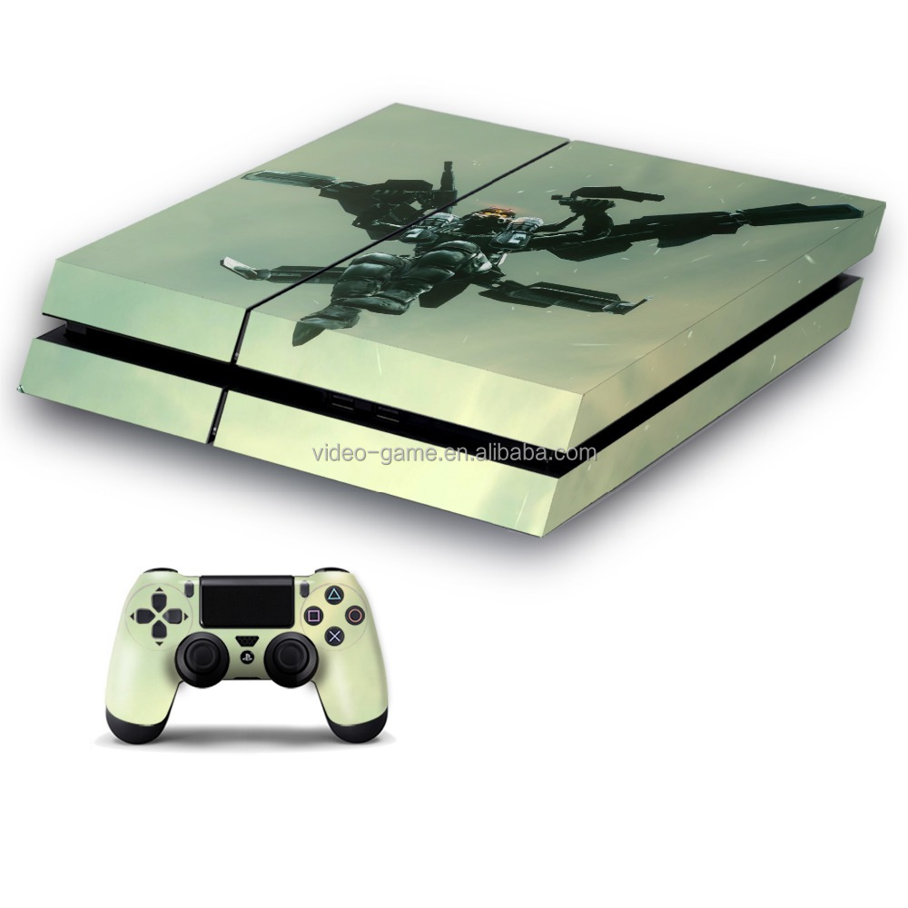 new style skin sticker design for PS4