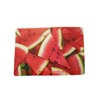 watermelon design plastic pp table mat for kids