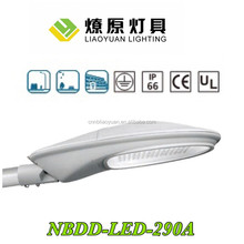 UL/CE Ningbo 100-250watt solar led street light huosing