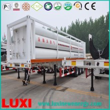China 25MPa,GSJ08-2210-CNG-25,Cng Cylinder Trailer For Gas