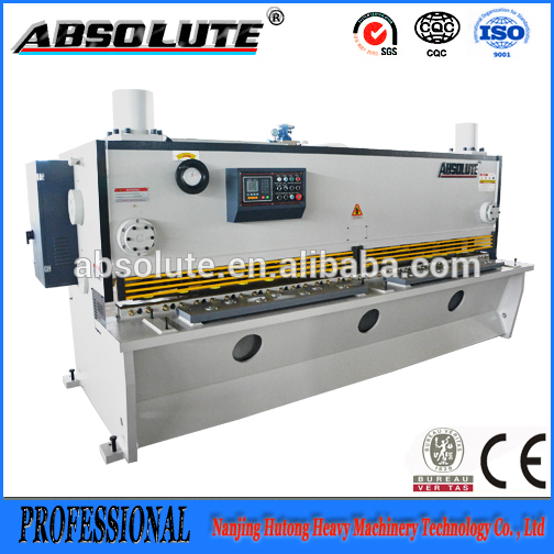 Q11k- 8*2500 ABSOLUTE mechanical power shear/ foot operate steel guillotine shear machine
