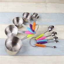 Wholesale Set Of 10 pcs Stainless Steel Magnetic Measuring Spoons