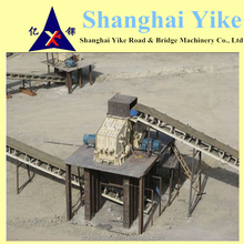 25KHz mobile impact crusher +mobile vibrating screen/granite/mining/gold/quarry with ISO9001:2008