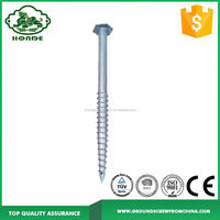 Widely Used Hex Head Self Drilling Ground Screw Pole Anchor Factory