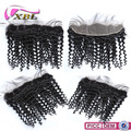 xblhair new 13*4 lace frontal virgin human hair deep wave lace frontal closure