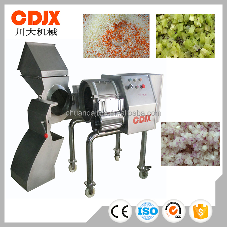 High capacity easy cleaning industry cutting machine for vegetable