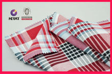 Striped and plaid fabrics for women's shirts