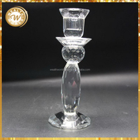 Special hot sale crystal candle holders made in india