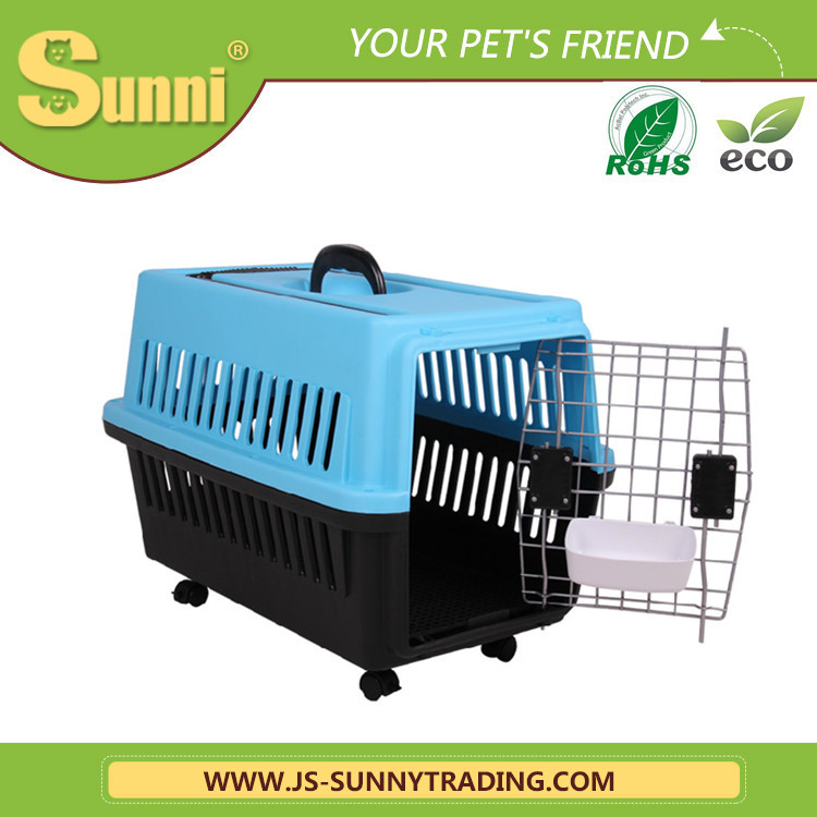 Factory wholesale high quality pet carrier with wheels