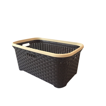 Newest High Performance Save Storage Space Plastic Square Laundry Baskets