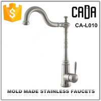 antique health mold made stainless steel basin faucet