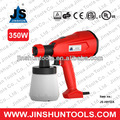 Portable Electric Carbon Brush HVLP Paint Spray Gun OPP (350W JS-HH12A) from Jinshun