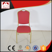 Crown Back Stacking Banquet Chairs Hotel Equipment EB-06