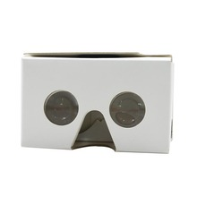 marketing flat envelope packing google cardboard vr viewer virtual reality glasses 3D VR glasses