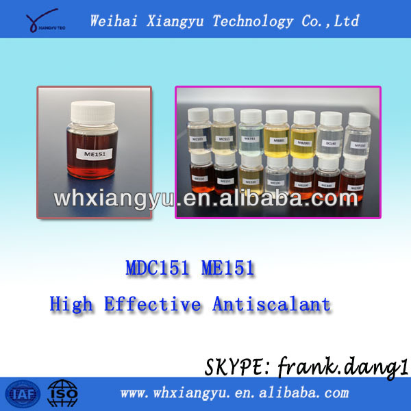 vitamin ME151/CaCo3 removal/RO chemicals/scale inhititor