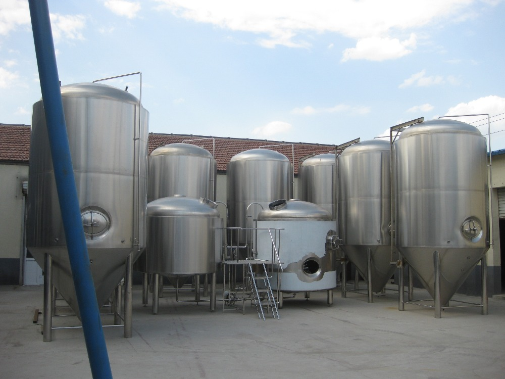 5000L Turnkey beer brewery system
