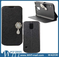Factory OEM /ODM Customized Design Wallet Diamond Case Cover for Samsung Galaxy S5 i9600