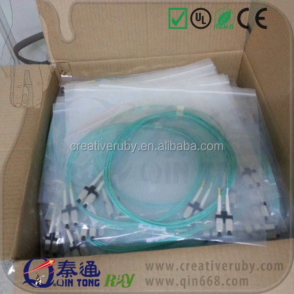 lc-lc OM3 mm duplex fiber optical patch cable 50m 100m