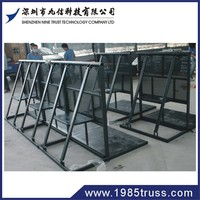 2012 Hot sell aluminum crowd control barriers applied in construction sites