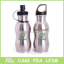 Best quality cool water bottle insulated stainless steel with Carabine climbing water bottle